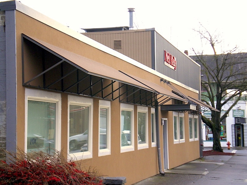 Commercial Awnings Portland Oregon - Waagmeester Awnings ...