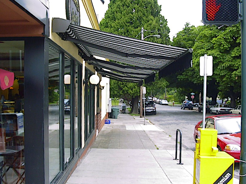 Commercial Retractable Awnings Waagmeester Sun